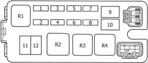 Toyota 4Runner (1989  1995)  fuse box diagram  Auto Genius