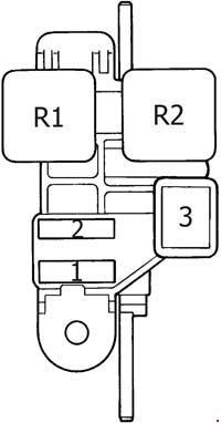 Toyota 4Runner (1989  1995)  fuse box diagram  Auto Genius