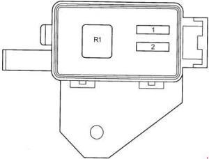 Toyota Avensis (1997  2002)  fuse box diagram  Auto Genius