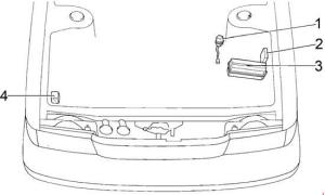 Toyota Cressida (1988  1998)  fuse box diagram  Auto Genius