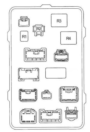 Toyota Hilux (1997  2005)  fuse box diagram  Auto Genius