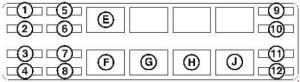 Bobcat 325  fuse box diagram  Auto Genius