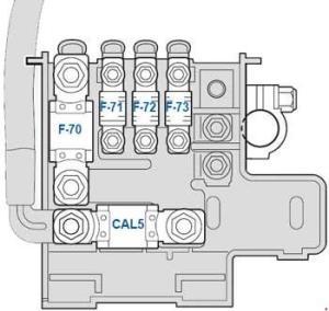 Ferrari California (2008  2014)  fuse box diagram  Auto Genius