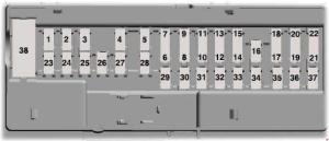 Ford Explorer U502 (2016  2018)  fuse box diagram  Auto Genius