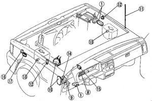 Mazda B2600 (1985  1998)  fuse box diagram  Auto Genius