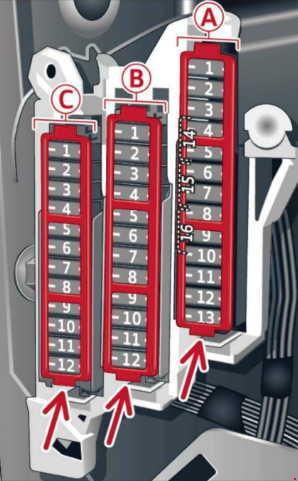 Audi A6 (C7; 2010  2016)  fuse box diagram  Auto Genius
