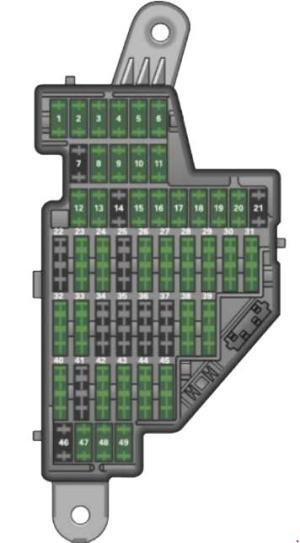 Audi TT (2006  2014)  fuse box diagram  Auto Genius