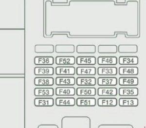 Citroen Relay (2006  2014)  fuse box diagram  Auto Genius