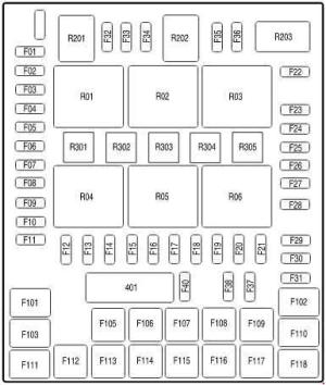 Ford F150 (2004  2008)  fuse box diagram  Auto Genius