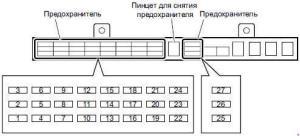 Isuzu NSeries  fuse box diagram  Auto Genius