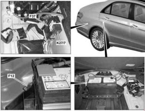 MercedesBenz EClass w212 (2009  2016)  fuse box