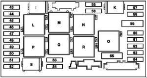 MercedesBenz SLK (R171; 2004  2010)  fuse box diagram