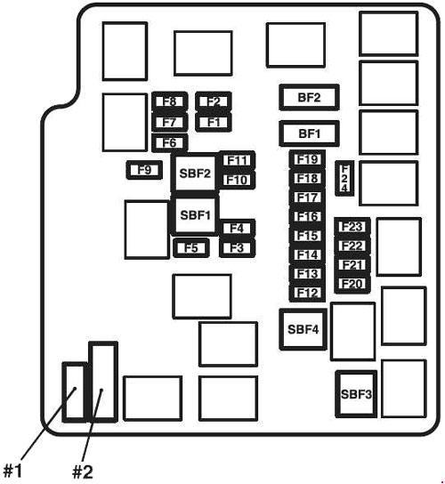 2000 mirage fuse diagram  description wiring diagrams camp