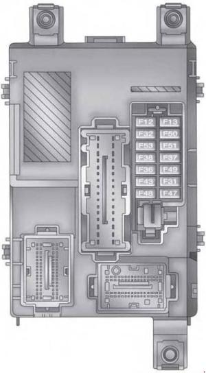 RAM ProMaster (2015  present)  fuse box diagram  Auto