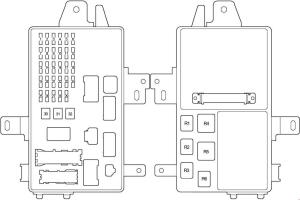 Toyota Camry (2001  2006)  fuse box diagram  Auto Genius