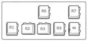 Nissan Almera (2000  2006)  fuse box diagram  Auto Genius