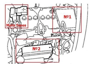 Nissan Juke (2011  2017)  fuse box diagram  Auto Genius