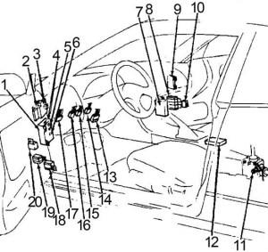 Nissan 240SX (1989  1994)  fuse box diagram  Auto Genius