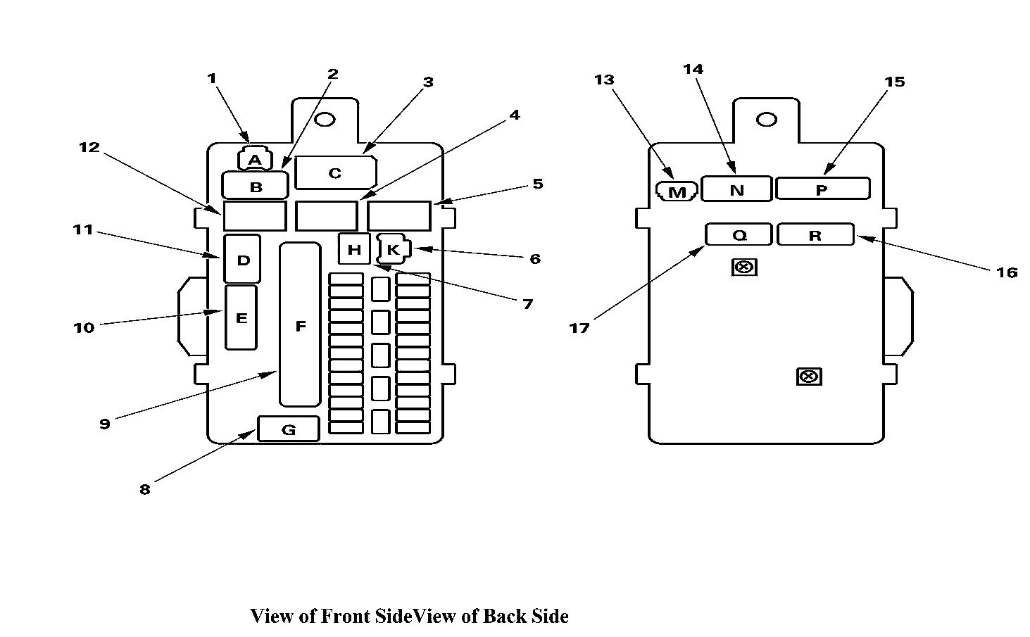 Acura Tl Relay Box Diagram