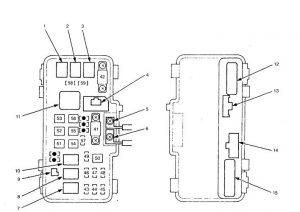 Acura TL (2000  2001)  fuse box diagram  Auto Genius