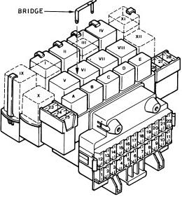 Ford Fiesta (1988  1997)  fuse box diagram  Auto Genius