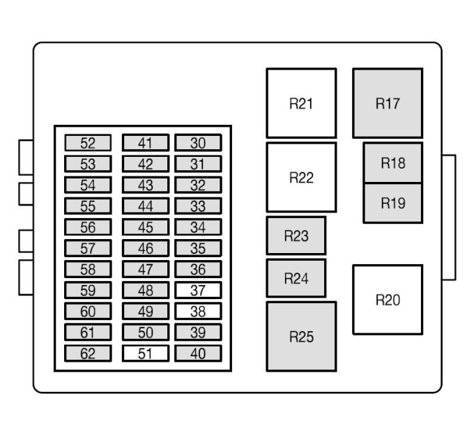 2004 ford focus fuse box  wiring diagrams database pipe