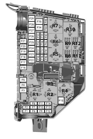 Ford Mondeo (01022007  19082007)  fuse box diagram (EU version)  Auto Genius
