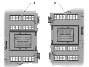 Ford Mondeo (01022007  19082007)  fuse box diagram