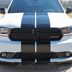 2011 2020 Dodge Durango Racing Stripes Rally Decals Full Bumper To Bumper Vinyl Graphic Decal Stripe Kit