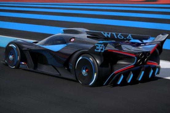 Χωρίς προηγούμενο κατασκευή του νέου Bugatti Bolide!  (+ βίντεο)