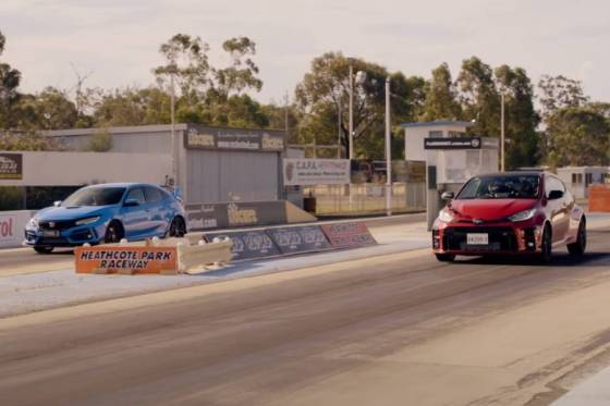 Το Civic Type R μετρά σώματα από το GR Yaris (+ βίντεο)
