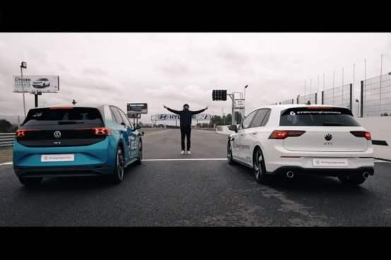 """VW ID.3 """"ιδρώτες"""" το Golf GTI (+ βίντεο)"""