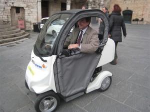 Duck- vehicul electric pentru posta
