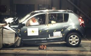 Sandero Euro NCAP