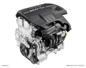 Motor GM Ecotec 2.4L I-4 VVT (LE5)