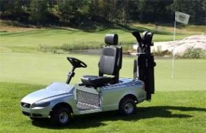 Volvo Golf Cart