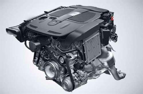 Motor Mercedes V6 3.5 L