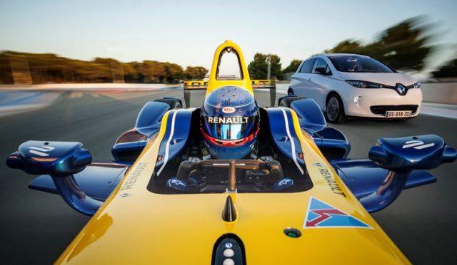 Renault Z.E 15 in Formula E