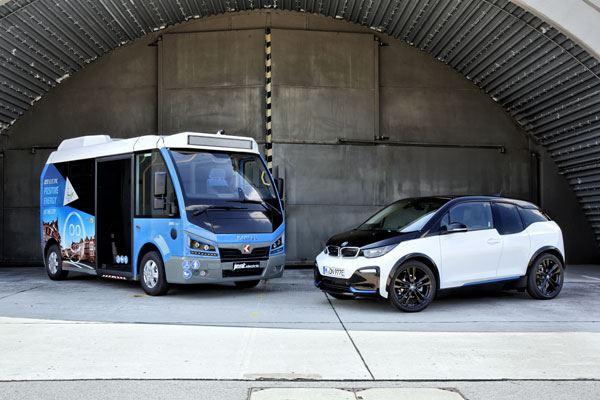 Karsan Jest Electric și BMW i3