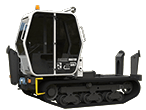Terrain Master TC600 Tracked Carrier Chassis Only
