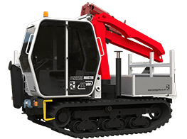 Terrain Master TC600 Tracked Carrier for the Utilities Industry