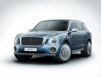 Bentley Confirms First SUV for 2016
