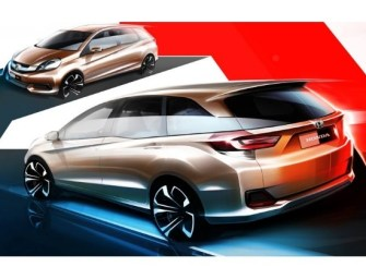 Honda Reveals Sketches of Brio-based MPV