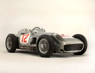 Fangio-driven Mercedes F1 car auctioned for record $29M at Goodwood