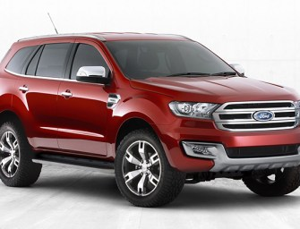 Ford Everest aka Endeavour Concept leaked