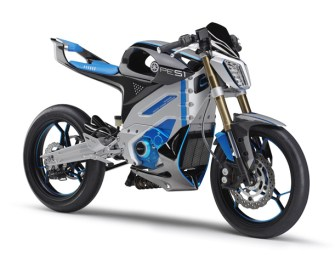 Yamaha Shows Off Concept Electric PES1, PED1  Motorcycles and ENVINO Scooter