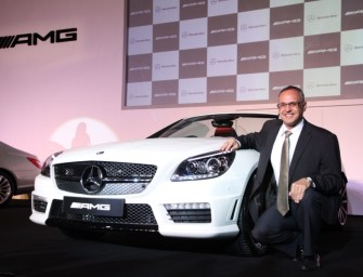 2014 Mercedes SLK 55 AMG Launched in India At Rs 1.26 crore