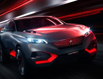 Peugeot Brings the Best of Both Worlds with Quartz Crossover Concept