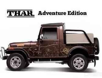 Mahindra & Mahindra Brings Out its Adventure Variant, Thar