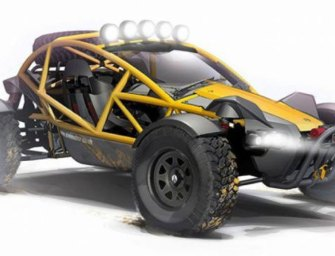 Meet Ariel Nomad, a Beastly Off-Roader with Sports Car DNA